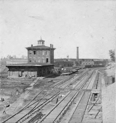 1863: Western & Atlantic Railroad in Atlanta