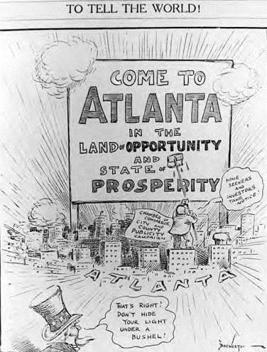 c.1924 Forward Atlanta Campaign